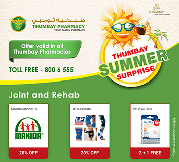 Thumbay Summer Surprise  – JOINT & REHAB