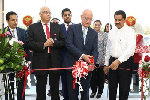 Thumbay Dental Hospital, the first private dental hospital in the country opens at Thumbay Medicity Ajman